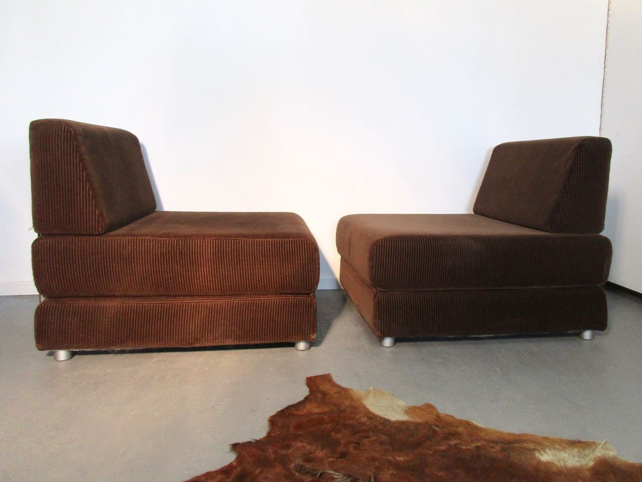 Sold seventies cordsessel schlafsofa retro salon cologne for Schlafsofa 70er