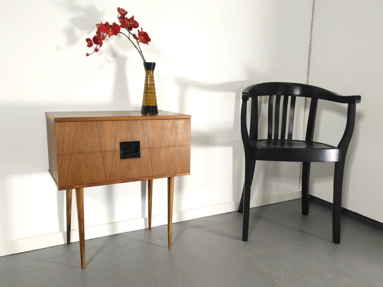 sold mid century n h kommode retro salon cologne. Black Bedroom Furniture Sets. Home Design Ideas