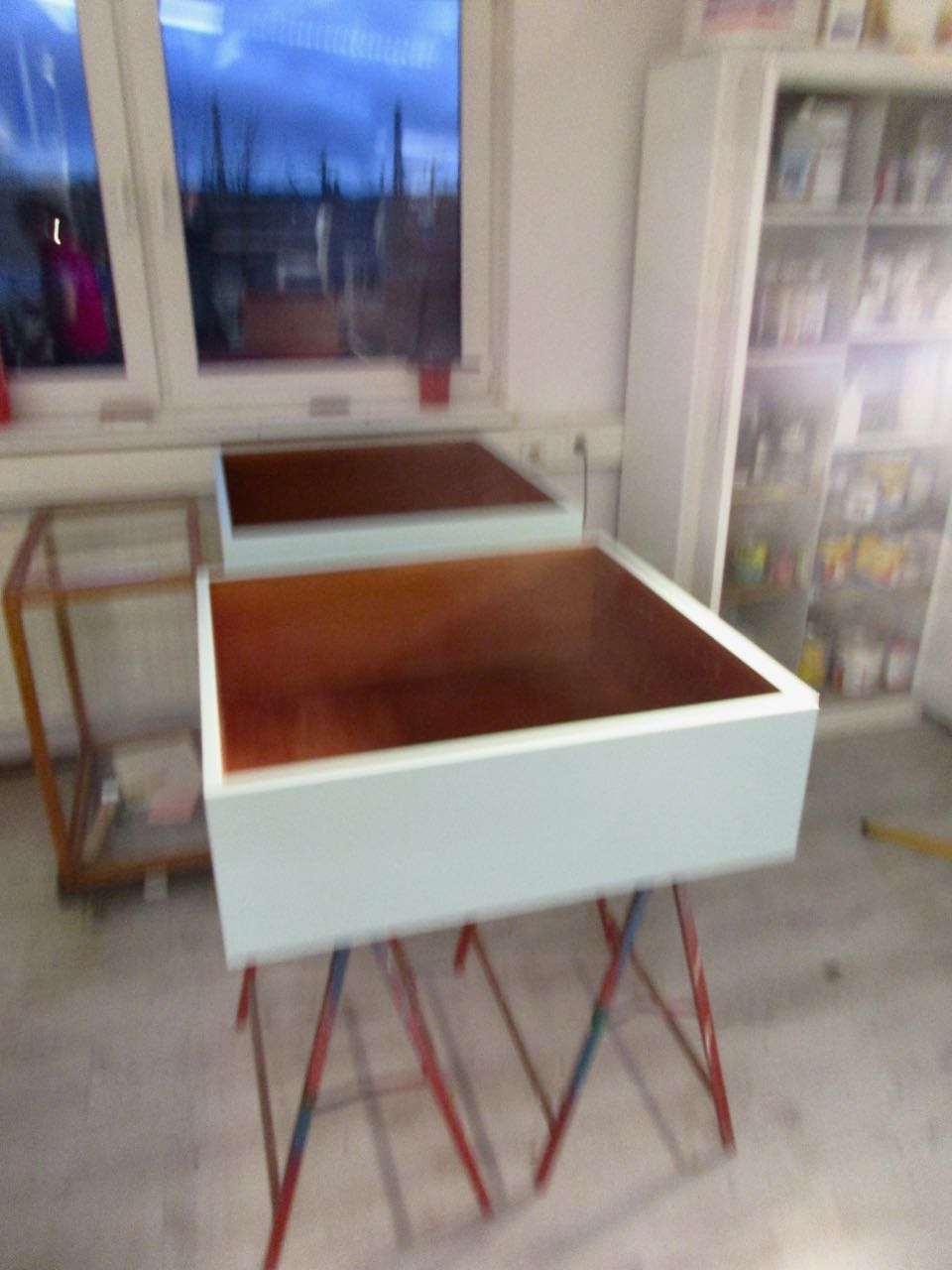 vintage moebel making of 1 retro salon cologne. Black Bedroom Furniture Sets. Home Design Ideas
